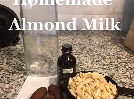 Best Homemade Almond Milk with 4 Ingredients or Less