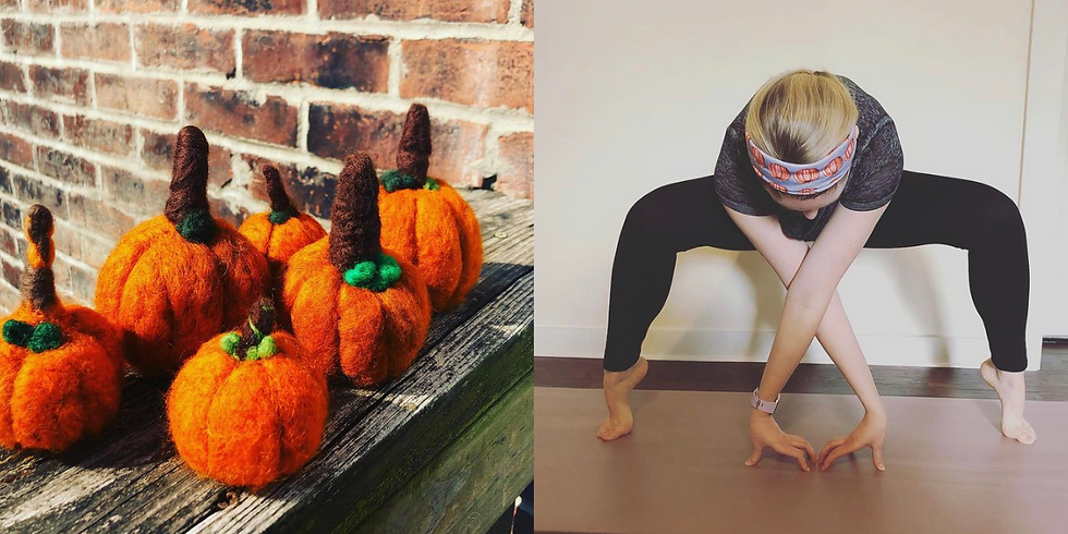 Pumpkins and Poses