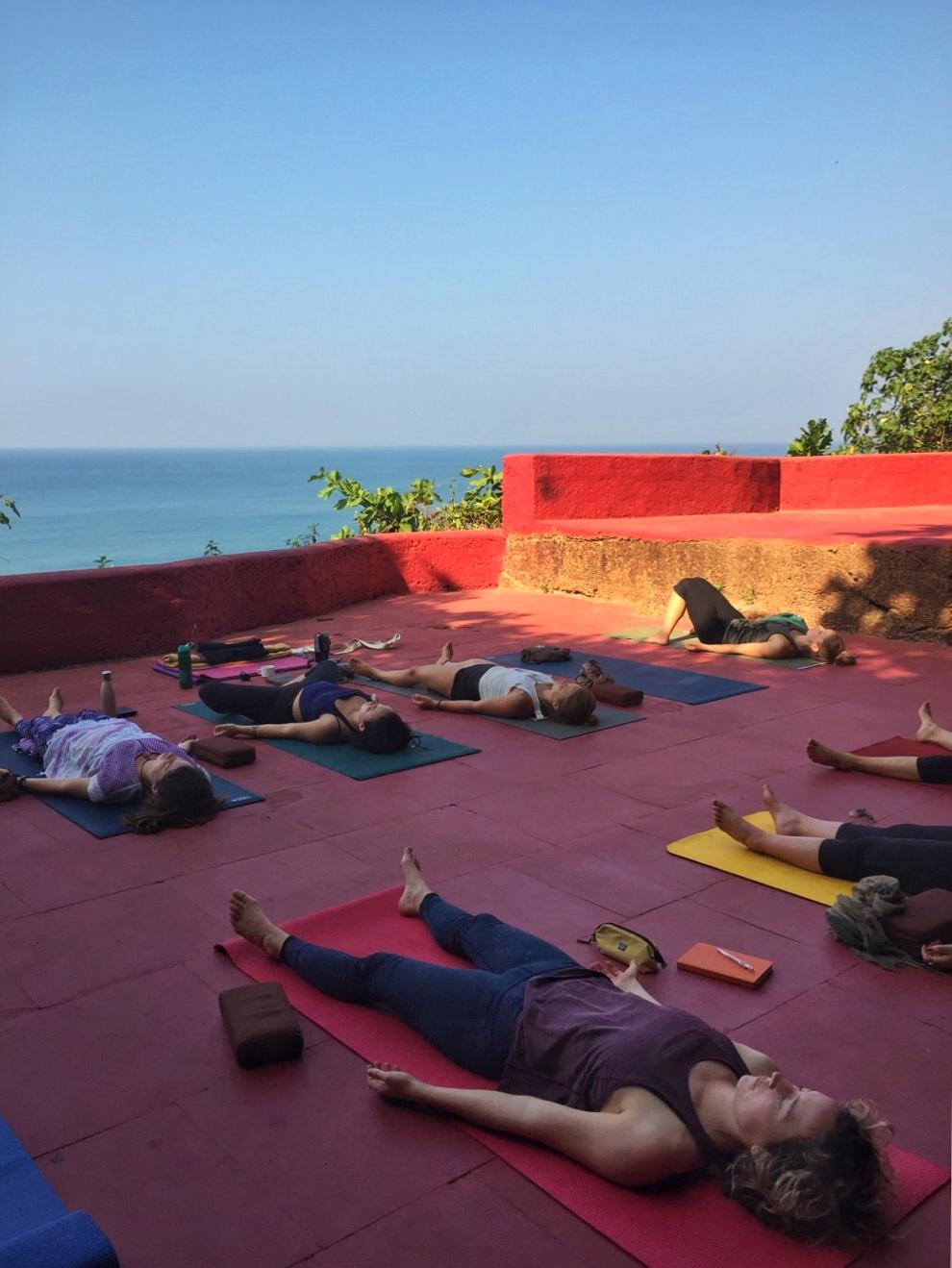 Oceano Yoga Cliffside