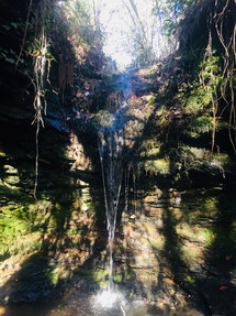 Waterfall in the Cevenne Mountains