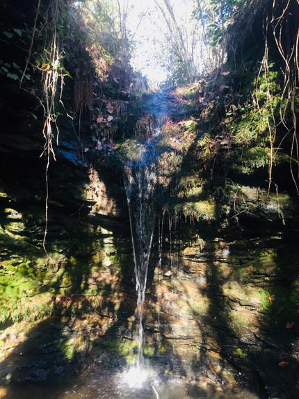 Cevenne mountains waterfall