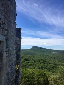 mountains & castles nearby Grace Ashram