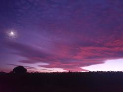 Grace ashram sunset
