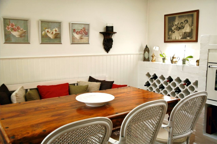 The dining area after renovation
