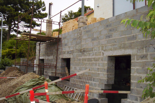 The construction