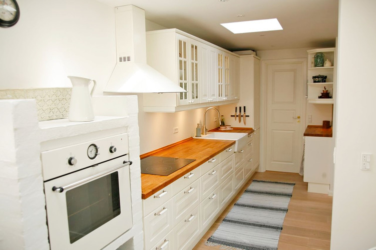 The kitchen after renovation