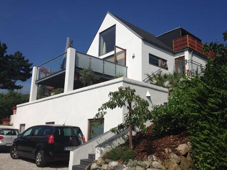 The house outside