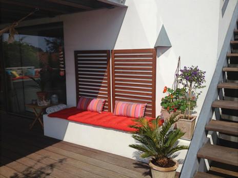 Interior design of outdoor areas
