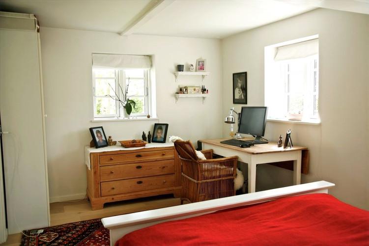 Cozy office in the bedroom