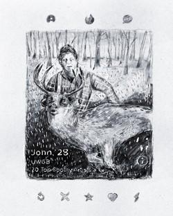 """""""John, 28"""""""