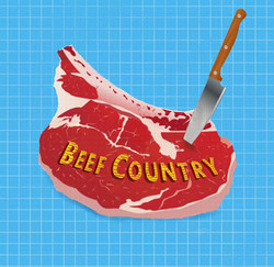 Logo for Beef Country Podcast