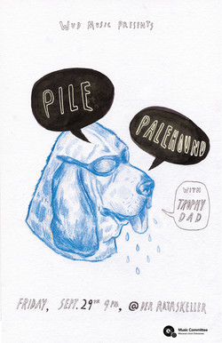 Pile and Palehound Poster