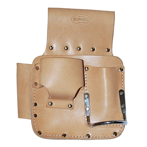 LEATHER MULTI-POCKET POUCH