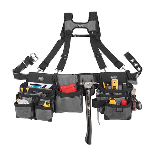 MULLET BUSTER TOOL BELT with SUSPENDERS