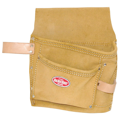 SUEDE LEATHER TOOL POUCH