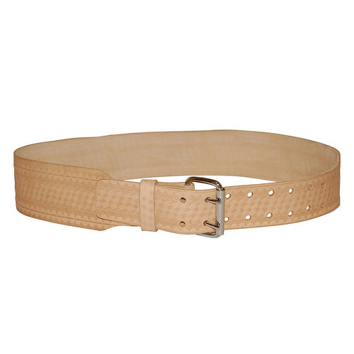 "3"" TAPERED LEATHER BELT"