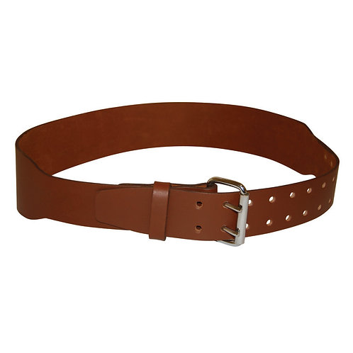 "LEATHER BELT 37""-46"""
