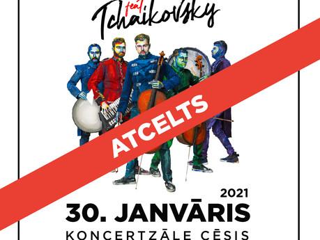 ATCELTI koncerti Cēsīs 30. janvārī