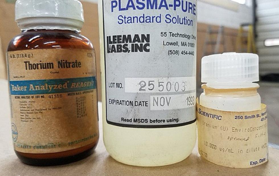 Thorium NItrate Disposal