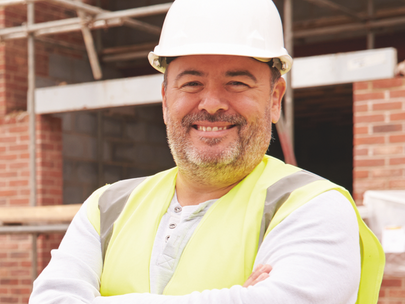 Lee retrains and finds a new job in the construction industry