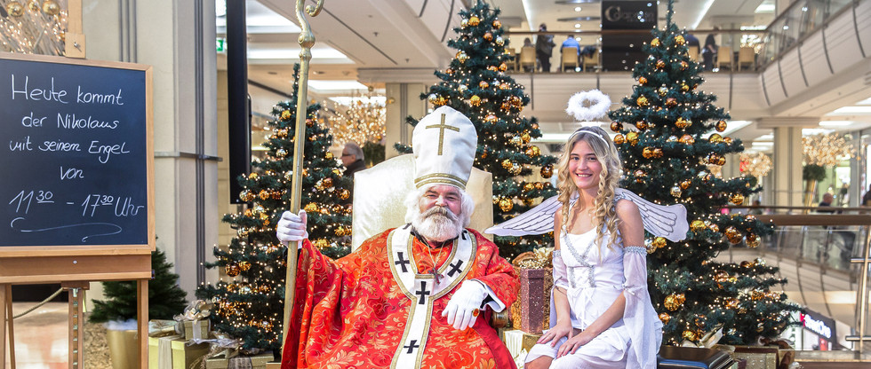 Treffen mit dem Weihnachtsmann