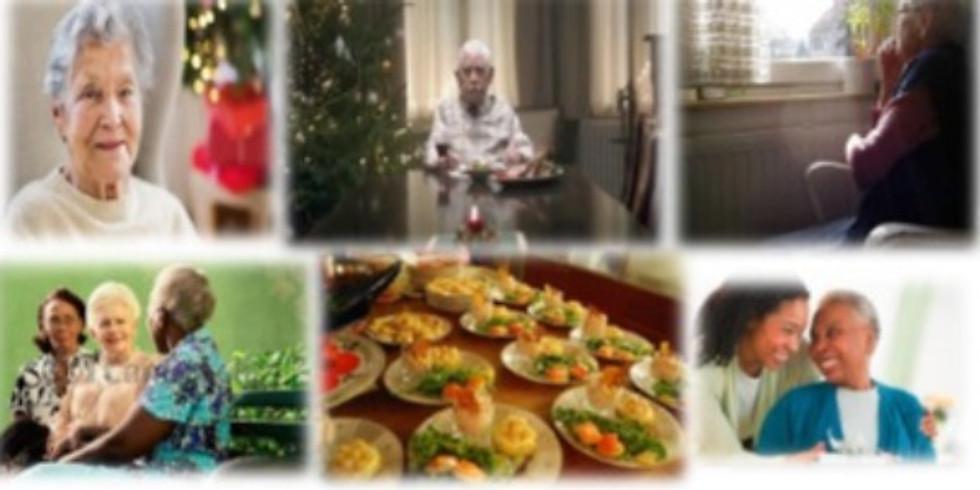 Repas de Noël pour les personnes seules « Ne laissons personne seule pour le temps des fêtes »