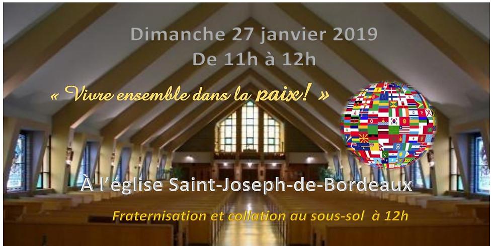Messe familiale des Nations à la paroisse Sainte-Famille-de-Bordeaux-Cartierville