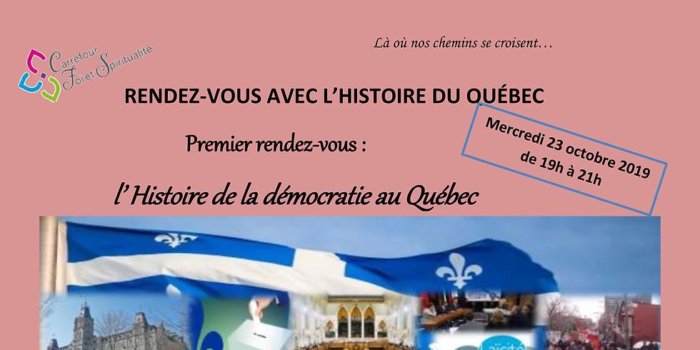 Rendez-vous avec l'histoire du Québec, avec Emile Grenier-Robillard, historien