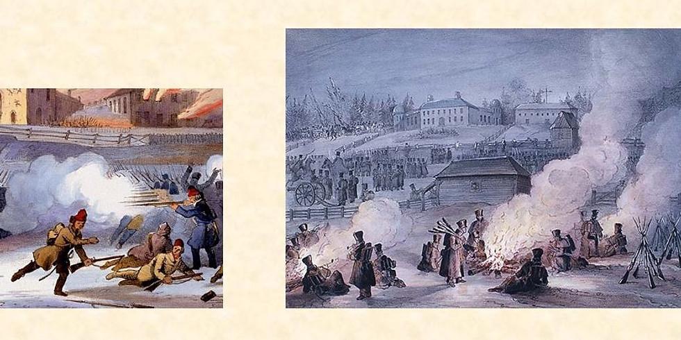 Rendez-vous avec l'Histoire du  Québec :                                                « Les Rébellions de 1837-1838 »
