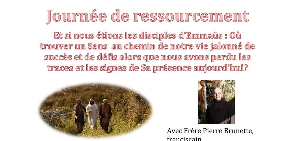 Journée de ressourcement avec Frère Pierre Brunette, franciscain