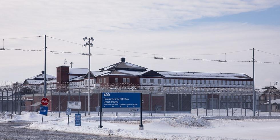 Groupe Solidarité avec les femmes incarcérées - Session hiver-printemps 2020