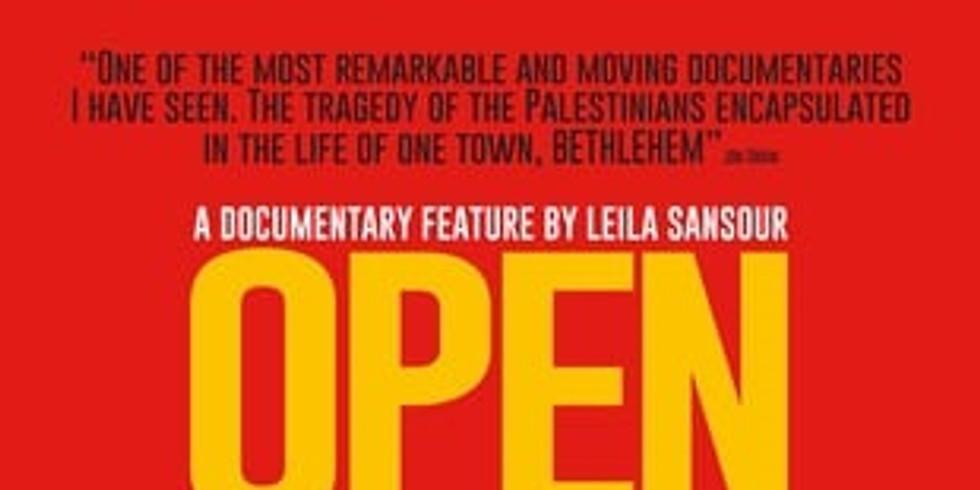 Ciné-rencontre avec le film : « Bethléem ville ouverte » de Leila Sansour