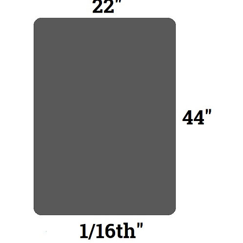 "Shungite S4 Rubber Pad Large (22"" x 44"")"