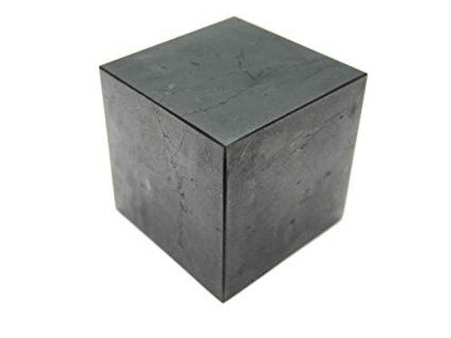 """Shungite Cube 3.25"""" Square"""