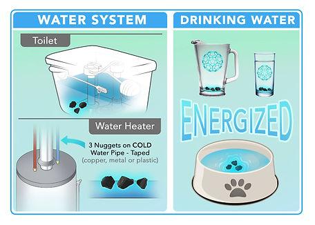 Shungite Energized Water
