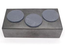 Shungite S4 Rubber Disc (3 pack)