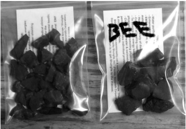 Shungite Nuggets for Beehives