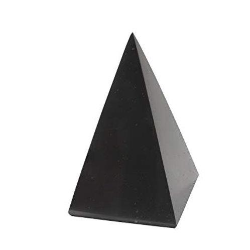 "Shungite Pyramid 4"" Tall"