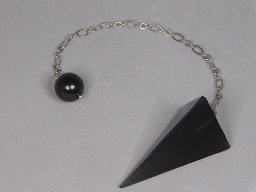 Shungite S4 Resin Pendulum