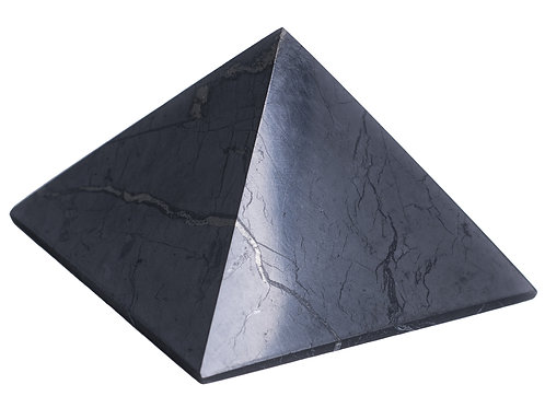 "Shungite Pyramid 2"" Tall"