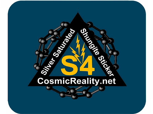Shungite S4 Sticker 3-Pack