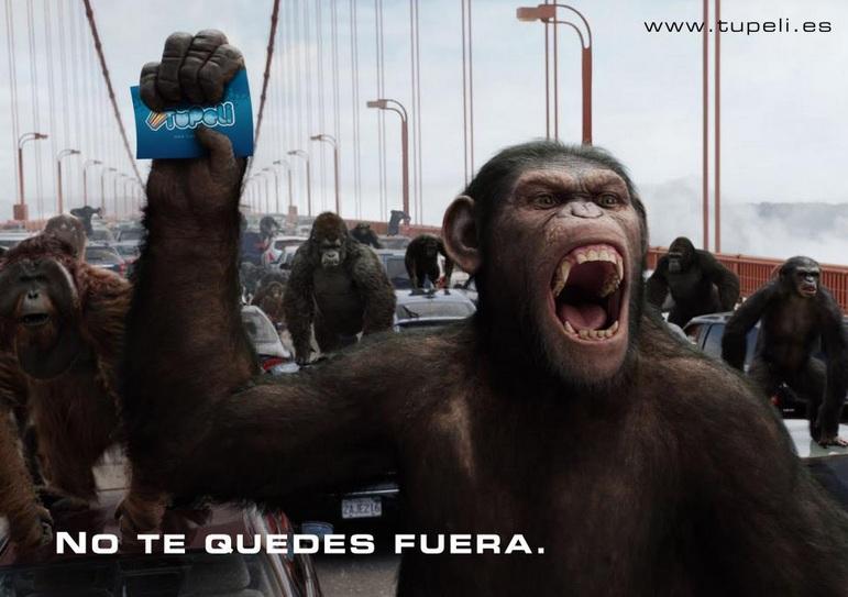 el planeta de los simios tupeli