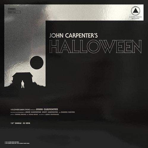 "JOHN CARPENTER - Halloween b/w Escape From New York 12"""