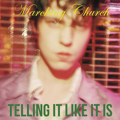 MARCHING CHURCH - Telling it like it is LP