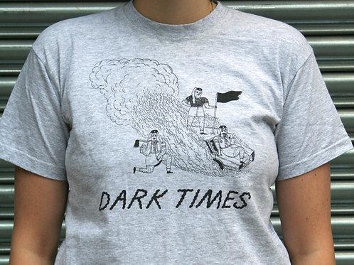 DARK TIMES - Girl Hate (grey) T-SHIRT