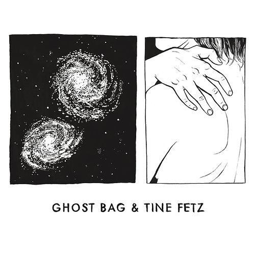 GHOST BAG & TINE FETZ - S/t LP/Zine