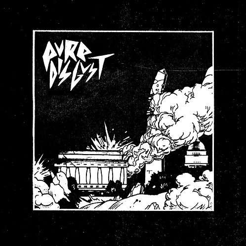 PURE DISGUST - S/T LP