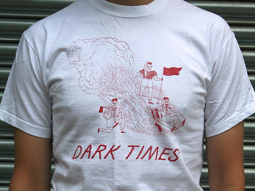DARK TIMES - Girl Hate (white) T-SHIRT