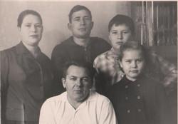 Семья Волосковых, 1964-1965 гг.