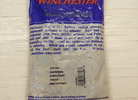 357 Sig NEW brass 100 pieces Winchester